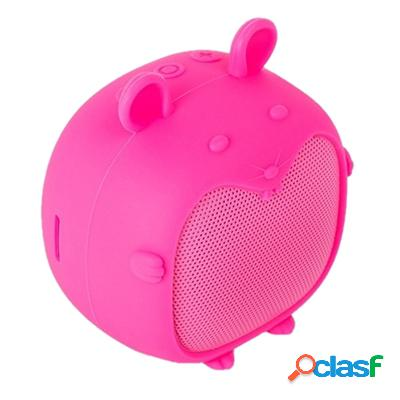 Spc Altavoz Bluetooth Sound Pups 3W MicroSd Rosa, original
