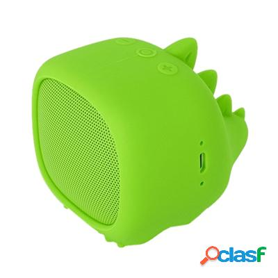 Spc Altavoz Bluetooth Sound Pups 3W MicroSd Verde, original