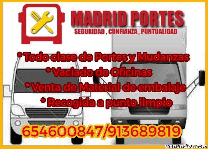 TRANSPORTES EN COLLADO VILLALBA >>ECONOMICOS - Madrid