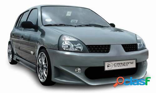 Taloneras faldones laterales Carzone para Renault Clio II