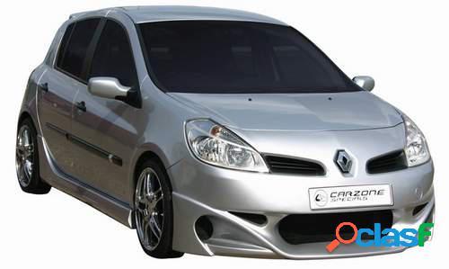 Taloneras faldones laterales Carzone para Renault Clio III