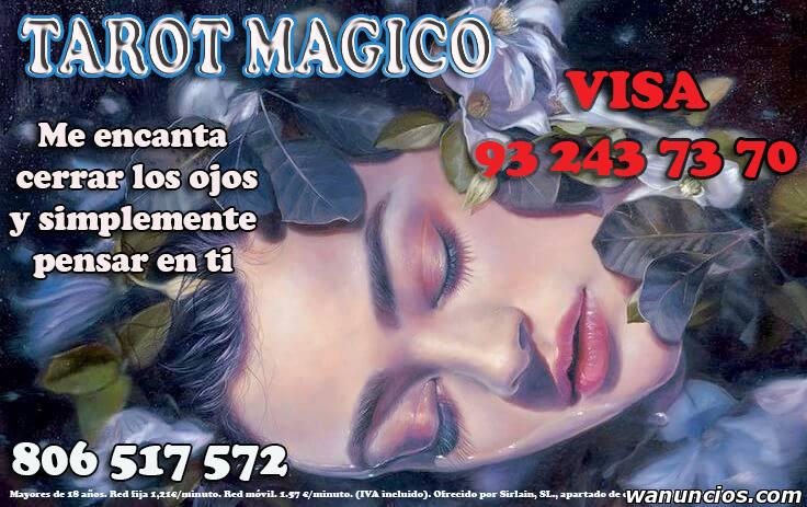 Tarot Barato, Las 24 Horas, 365 Días del Año, Visa