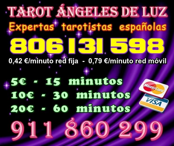 Tarot expertas 5 eur 15 minutos - Madrid