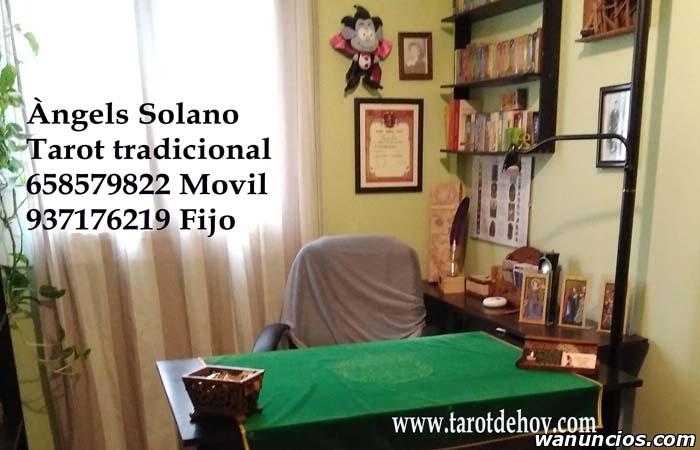 Tarot tradicional cara a cara con Angels Solano - Barcelona