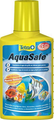 Tetra AquaSafe Acondicionador para Agua de Acuarios 100 ml