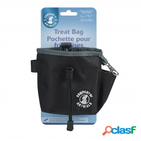 The Company Of Animals CLIX Pro Treat Bag Negro