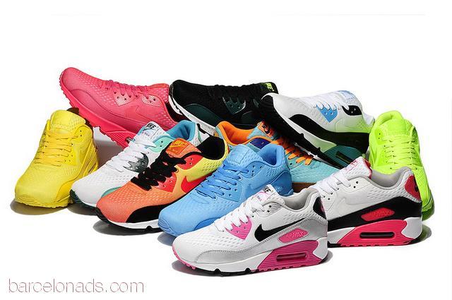 Tienda Online Tenis calzados Nike Air Max 90 de mujer en