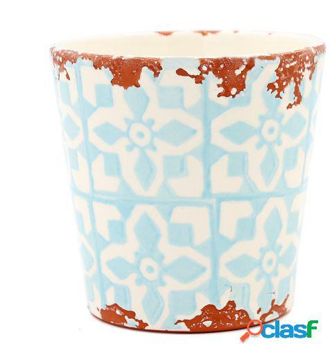 Tiesto Eura cerámica 14x12cm azul claro
