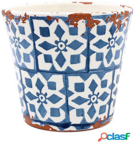 Tiesto Eura cerámica 14x12cm azul teal