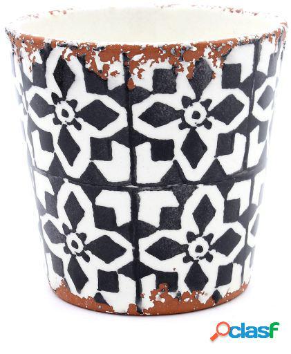 Tiesto Eura cerámica 14x12cm negro