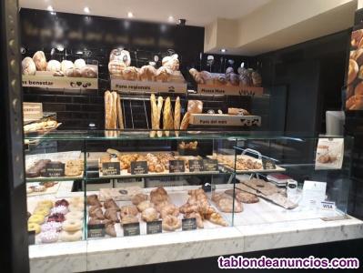 Traspaso panadería en calle de mucho paso