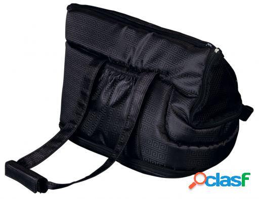 Trixie Bolsa Riva, nylon, 26x30x45 cm, Negro Negro