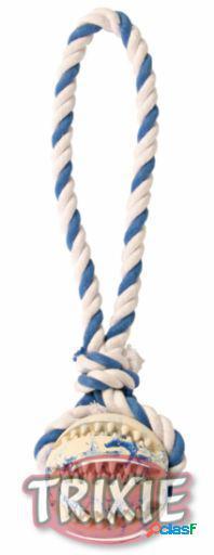 Trixie DentaFun pelota con cuerda algodón