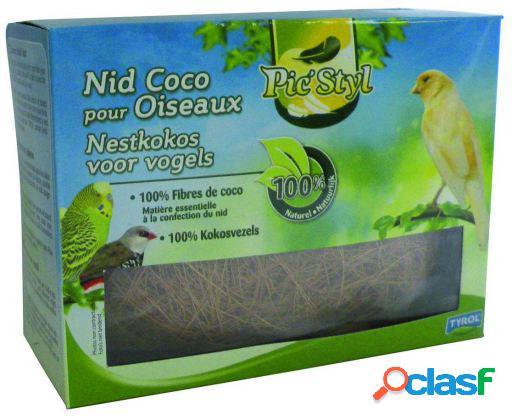 Tyrol Nido de coco para pájaros 50 GR