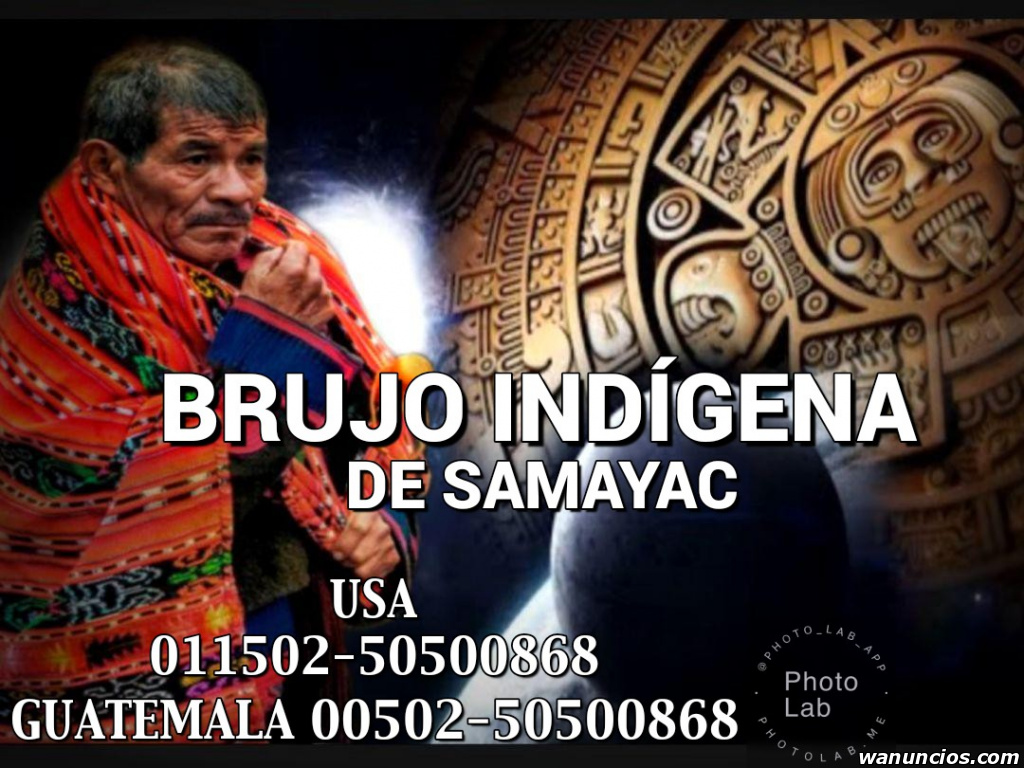 UNIONES DE PAREJAS DEL BRUJO INDÍGENA DE SAMAYAC - Málaga