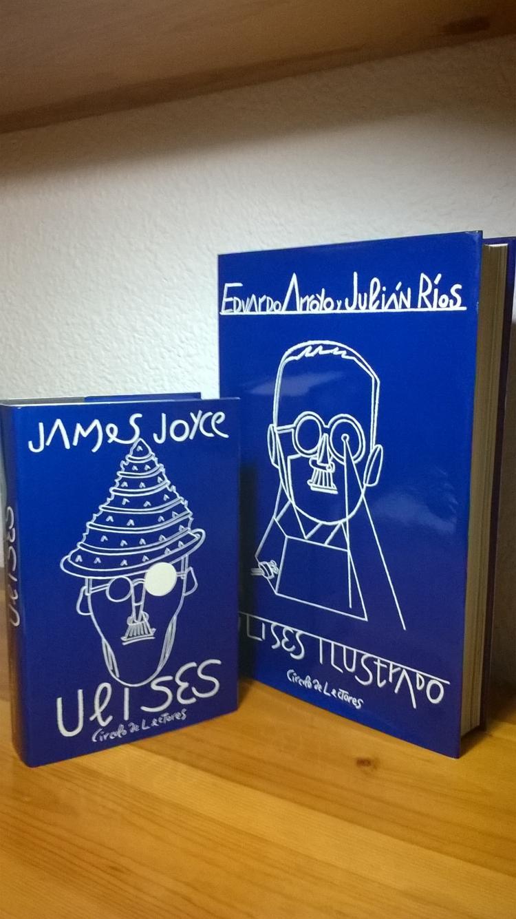 Ulises Ilustrado de James Joyce por Eduardo Arroyo