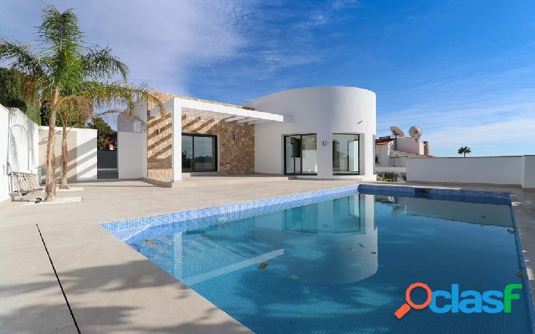 Una impresionante villa modern