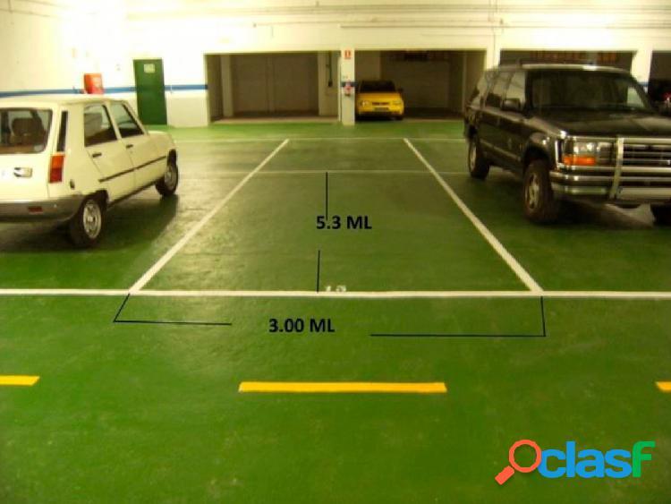 Urbis te ofrece una estupenda plaza de garaje en zona Vidal,