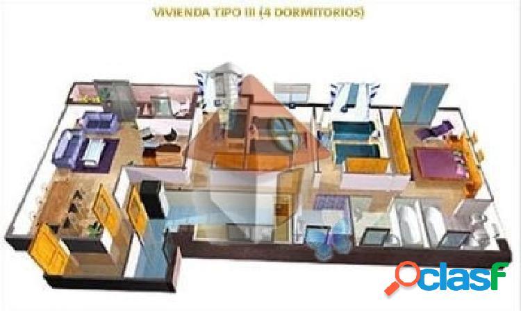 VENTA DE PISO DE 4 DORMITORIOS EN PAU EL QUIÑON - FASE I