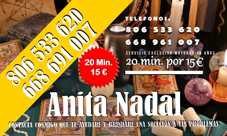 VIDENCIA Y TAROT - ANITA NADAL - Barcelona