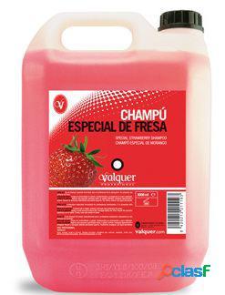 Valquer Champú Especial de Fresa 5000 ml 5 L