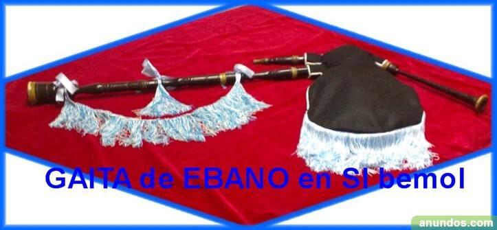 Vendo gaita de ebano en si bemol - Madrid Ciudad