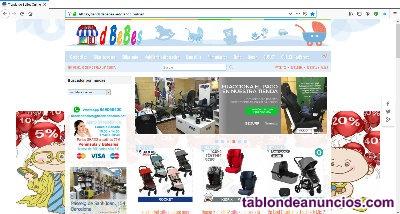 Venta conocida tienda online de puericultura en barcelona