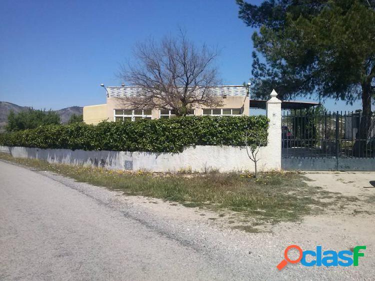 Venta de casa de campo en Salinas Alicante Costa Blanca