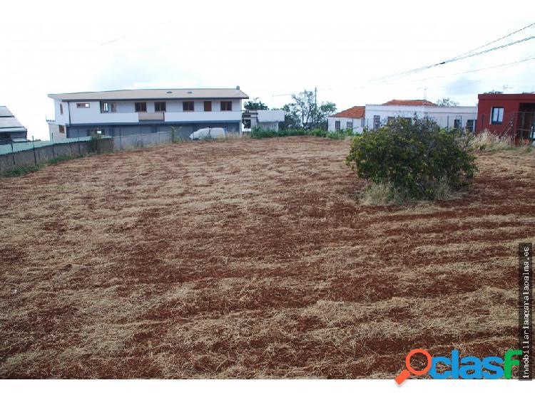 Venta de terreno urbano céntrico en Puntagorda