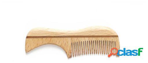 Vie-long Peine de Madera Mini para Barba y Bigote