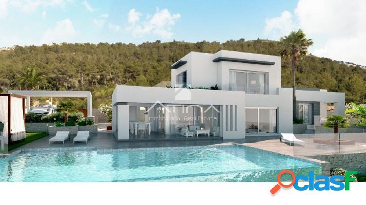 """""""Villa de lujo con licencia con vistas al mar y al Montgó"""