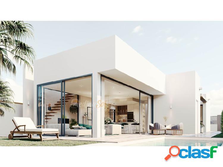 Villa independiente con piscina y jardines privados Mar de