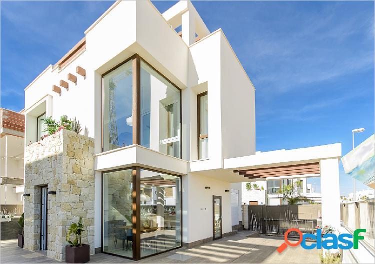 Villas de estilo moderno en una de las zonas con mas demanda