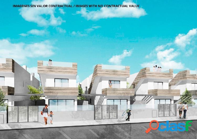 Villas independientes a 200 metros de la playa con piscina y
