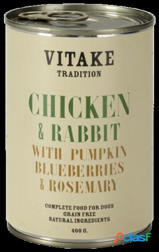 Vitake Comida Humeda para Perros Tradition con Conejo y