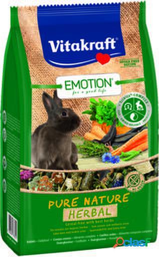 Vitakraft Menú Emotion Pure Nature Herbal Conejos Enanos