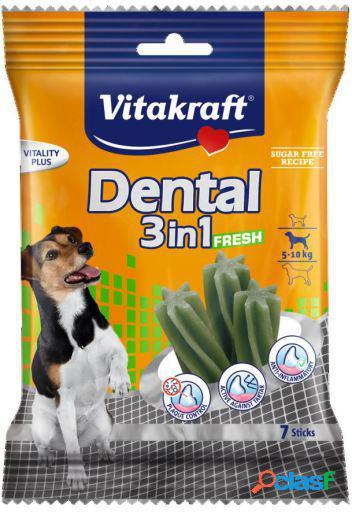 Vitakraft Snacks para Perros Pequeños Dental 3 en 1 Fresh