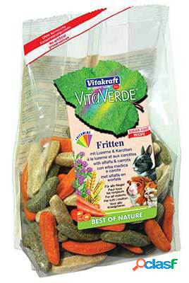 Vitakraft Verde Gajos de Alfalfa y Zanahoria para Roedores