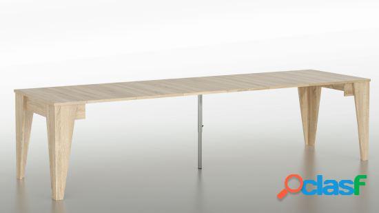 Wellindal Cónsola Mesa de comedor extensible hasta 305 cm