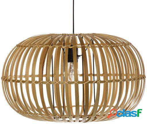 Wellindal Lámpara de techo bambú natural 1xe27 máximo 40w