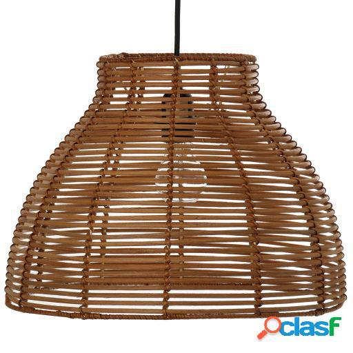 Wellindal Lámpara de techo ratán 1xe27 máximo 40w no
