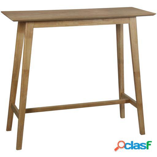 Wellindal Mesa bar madera color roble