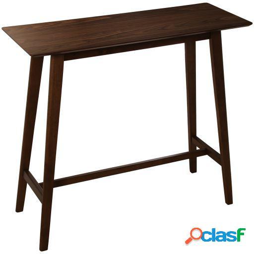 Wellindal Mesa bar madera nogal
