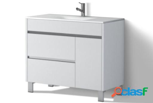 Wellindal Mueble de baño Tauro 100cm Gris