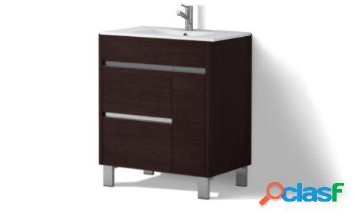 Wellindal Mueble de baño Tauro 70cm Roble Medio