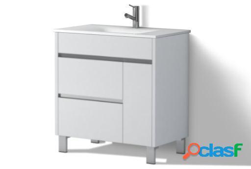 Wellindal Mueble de baño Tauro 80cm Roble Medio