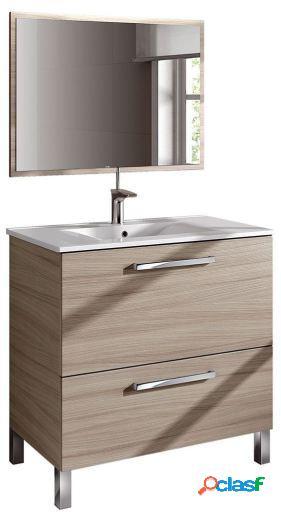 Wellindal Mueble de baño Urban con espejo