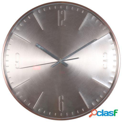 Wellindal Reloj pared aluminio cobre 31cm