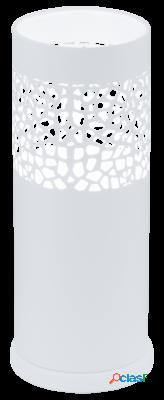 Wellindal Sobremesa 1 luz E27 Blanco Carmelia
