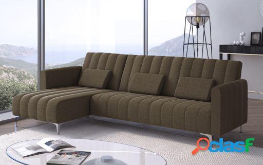 Wellindal Sofá chaise longue Milano convertible en cama